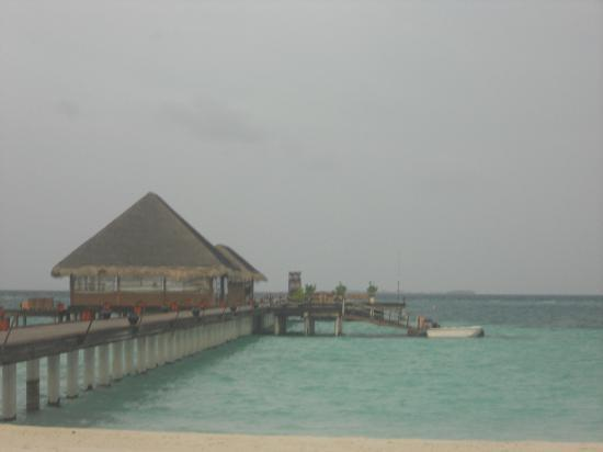 Kanuhura - Maldives: one of the jetty's