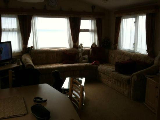 Hendre Coed Isaf: Living area
