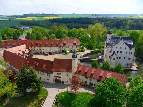 Schlosshotel Klaffenbach: frontale Ansicht