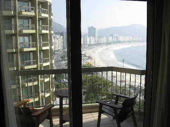 Sofitel Copacabana: Fiew from the room - 617