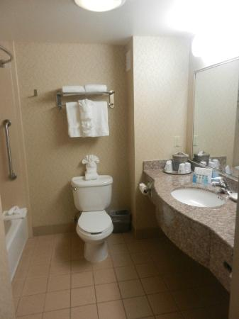 Hampton Inn & Suites San Francisco-Burlingame-Airport South: Bathroom