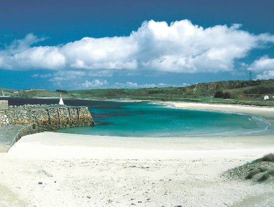 View from Braye Beach Hotel