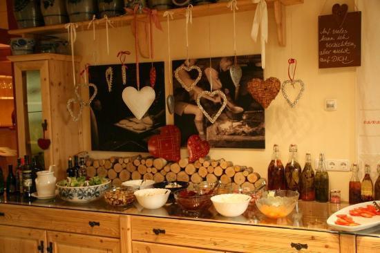 Hotel Jenewein: Le buffet salades