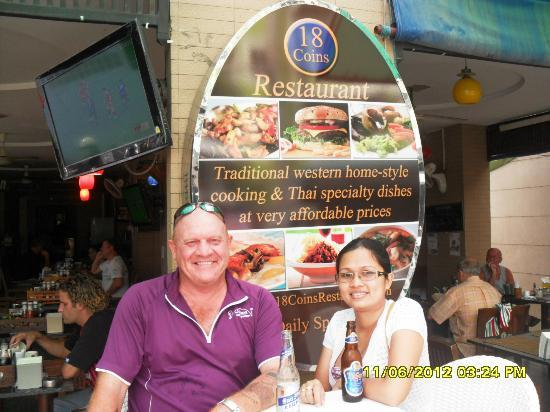 18 Coins Restaurant: Our friendly owners
