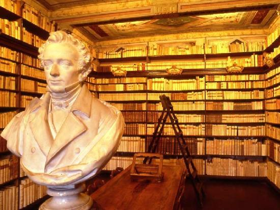 Recanati, Italien: Biblioteca Leopardi