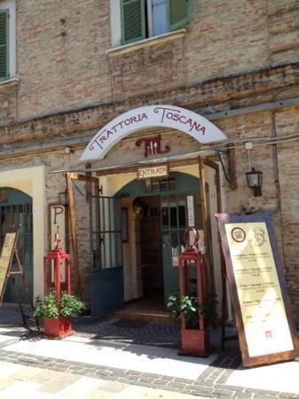 Trattoria Toscana: En una zona muy tranquila.