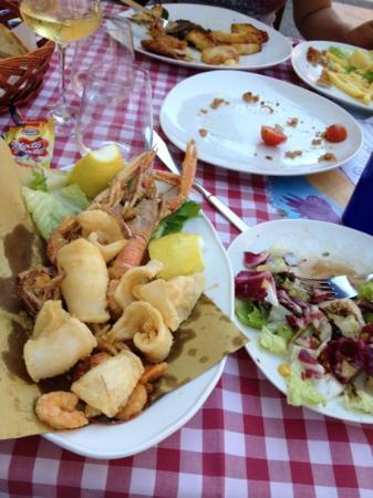 Trattoria Toscana: ottimo fritto di mare..!!!!
