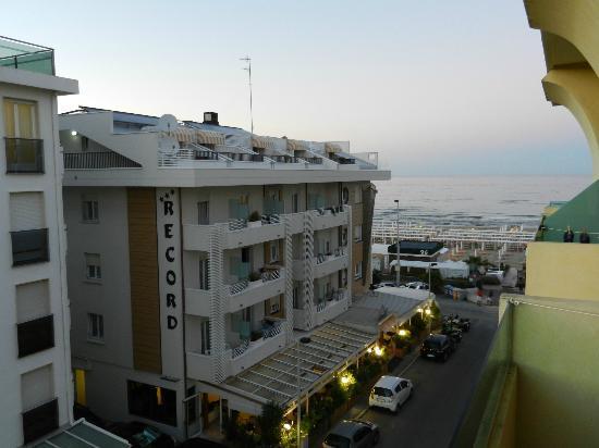 Hotel Montecarlo: vista dalla camera