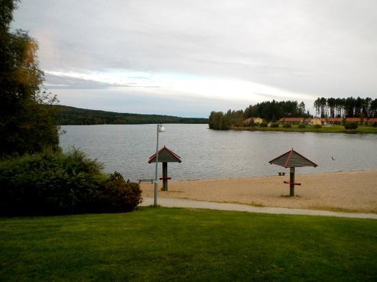 Holiday Club Katinkulta: Beach, view from kitchen