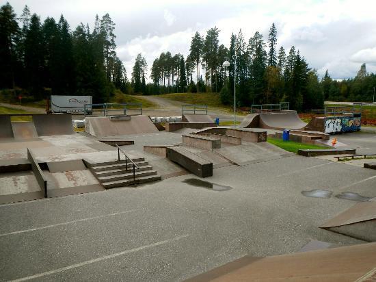 Holiday Club Katinkulta: Nearby skatepark in Vuokatti - within biking distance