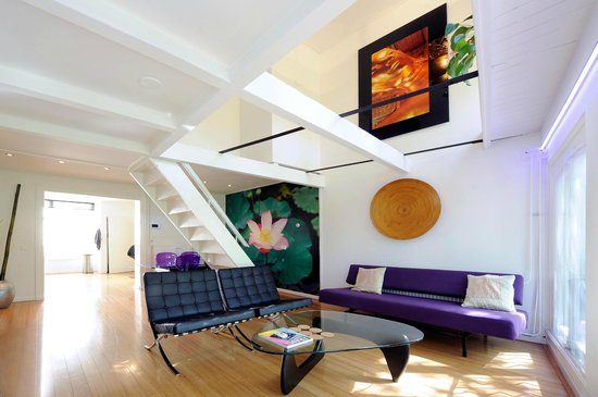 Amsterdam Boutique Apartments: living