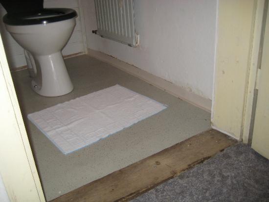 Hartershofen, Allemagne : Toilette hatte schon Wasserspühlung