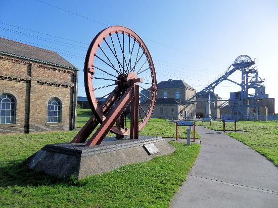 Ashington, UK: Woodhorn's historic buildings