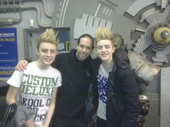 Quasar: Jedward came to play!