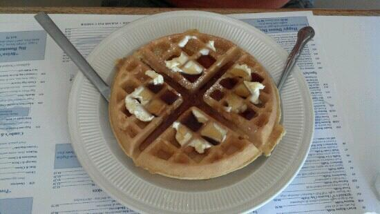 Brian's Waffle House: Belgian waffle. You could buy a waffle maker for the price paid.
