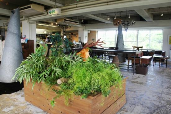 Cafe Panorama: 店内