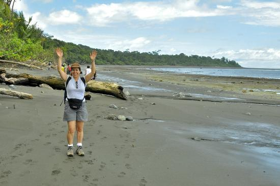 low tide Corcovado National Park