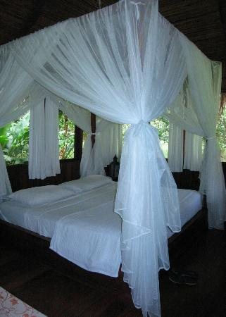 Pacuare Lodge: Bed-obviously!