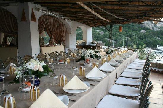 Poltu Quatu, Italia: tavolo inperiale