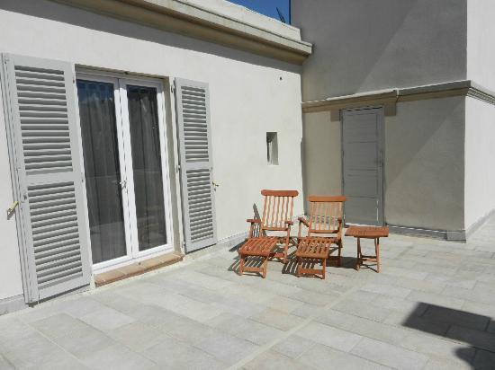 Villa Valflor: terrasse