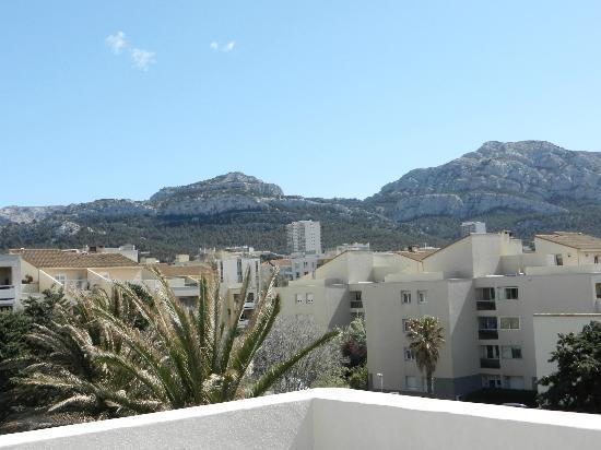 Villa Valflor: vue de la terrasse