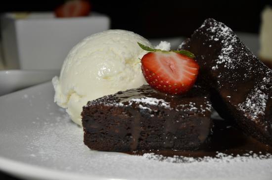 Fat Olives brasserie : Fat Olives Chocolate Brownie