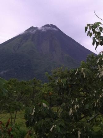 Arenal Manoa Hotel & Spa: view of the volcano smoking sept 12