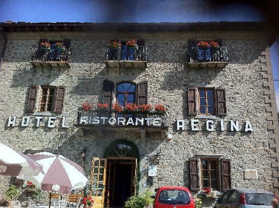 Albergo Regina Restaurant: ingresso