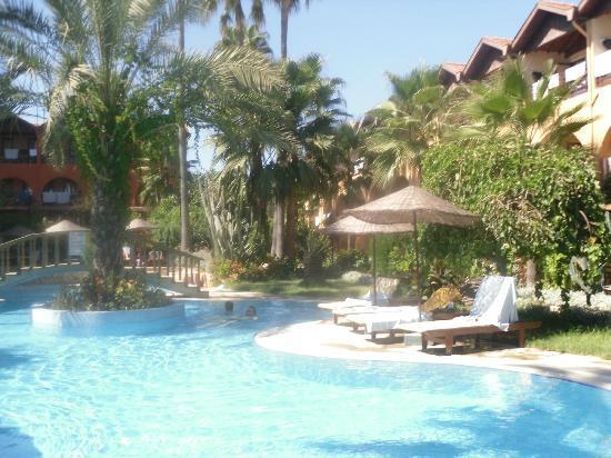 Hotel Club Tropical Beach : wypoczynek na leżakach
