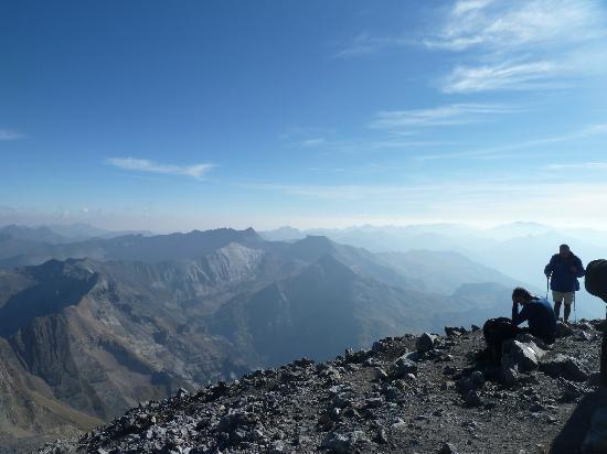 Parador de Bielsa: top of Monte Perdido (Perdu)