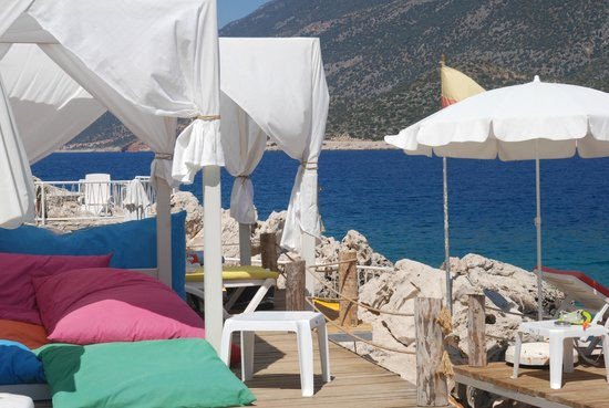 Hotel Club Barbarossa: Waterfront