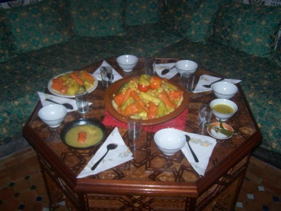 Maison D'Hotes Marabou: Couscous