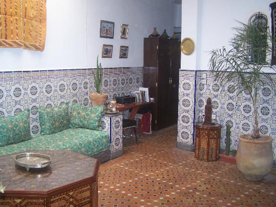 Maison D'Hotes Marabou : salon