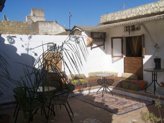 Maison D'Hotes Marabou : terras