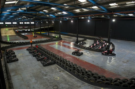 ‪TeamSport Indoor Go Karting Brighton‬