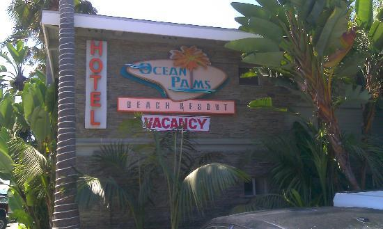 Ocean Palms Beach Resort: Hotel