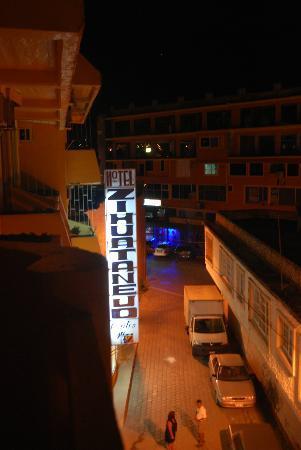 Hotel Zihuatanejo Centro: From balcony