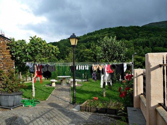 Triacastela, Spagna: der große Wäscheplatz