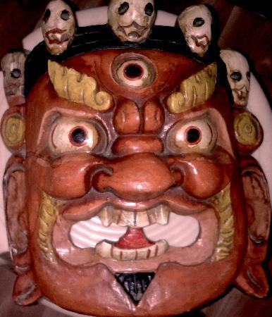Jewel Caravan: Tibetan mask