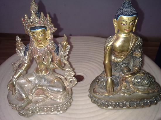 My beautiful statues purchased at Jewel Caravan
