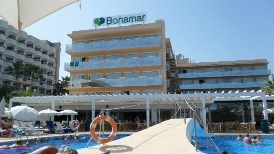 Protur Bonamar: View from my sun lounger :-)