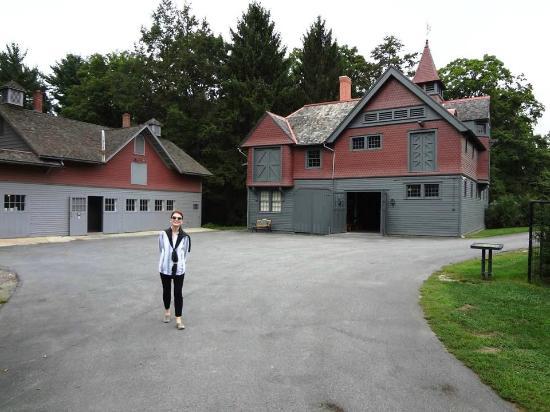 Franklin Delano Roosevelt Home: Franklin Delano Roosevelt Coach House