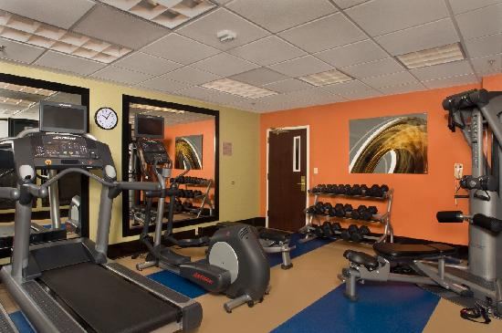Courtyard Tupelo: Your work out awaits you....