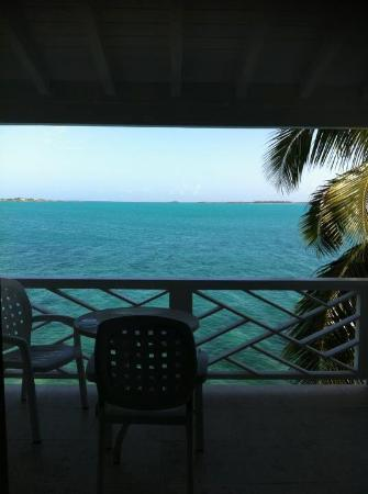Club Peace & Plenty Exuma Island: Breath-taking view.