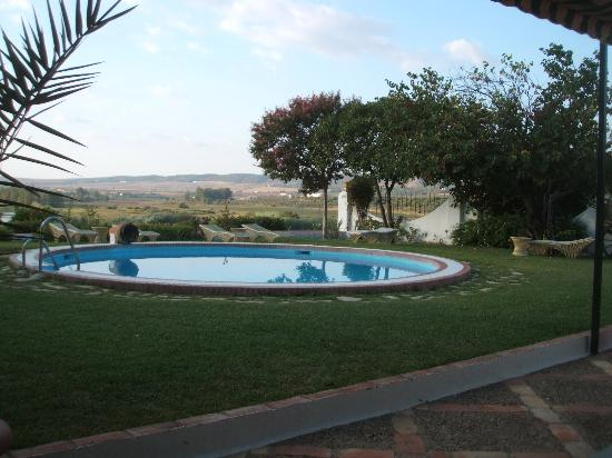 Hacienda El Santiscal: The pool with a view