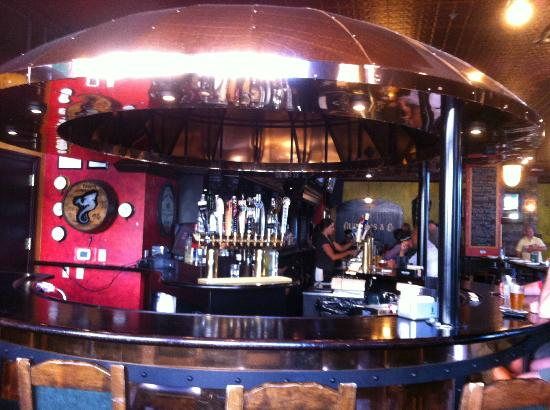 O'Rourke's Public House: The bar inside O'Rourkes Irish Pub