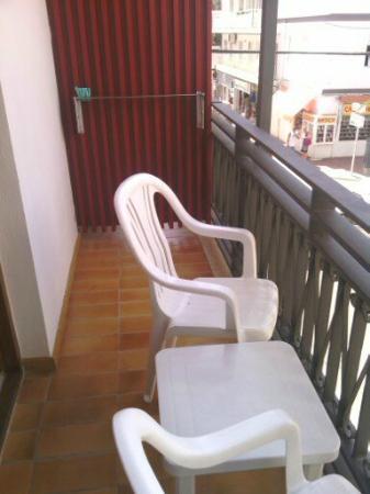 Ebusus Apartments : Balcon