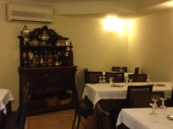 Hotel Palma: the dining room