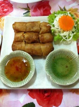 Kwong Shop Seafood: spring rolls