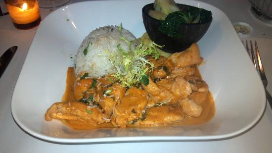 Fred's Not Here Restaurant: Evil Jungle Prince - curry in a hurry - Very good!